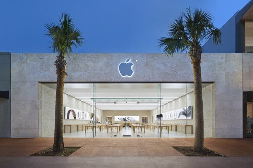 Lojas da Lincoln Road em Miami: Apple