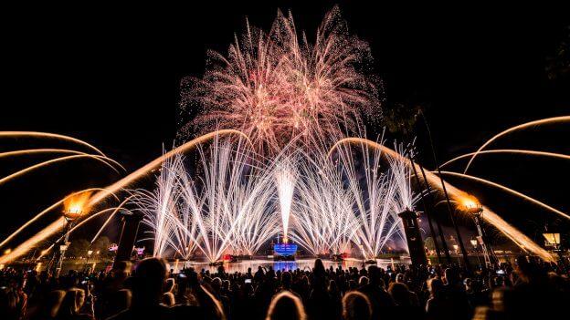 Melhores lugares para ver os shows da Disney em Orlando: Disney Epcot - IllumiNations: Reflections of Earth