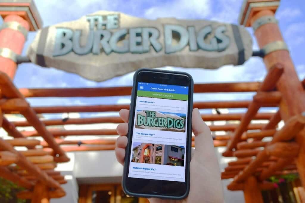 Mobile Express Pick Up - Como pedir comida pelo celular nos restaurantes da Universal