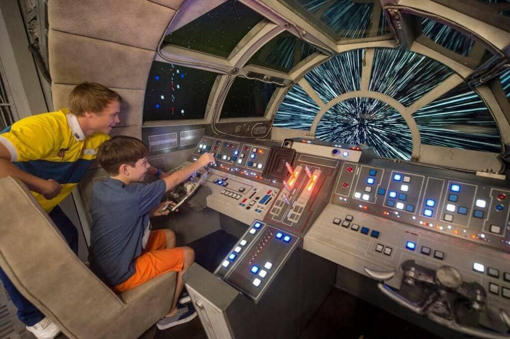 Atração da área Star Wars: Galaxy's Edge no Disney's Hollywood Studios em Orlando