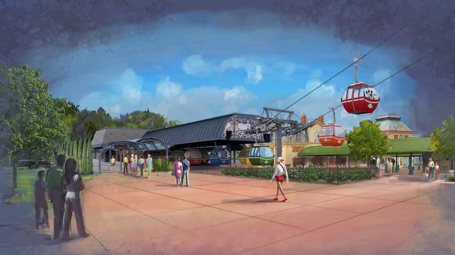 Novidades da Disney para 2019: Disney Skyliner