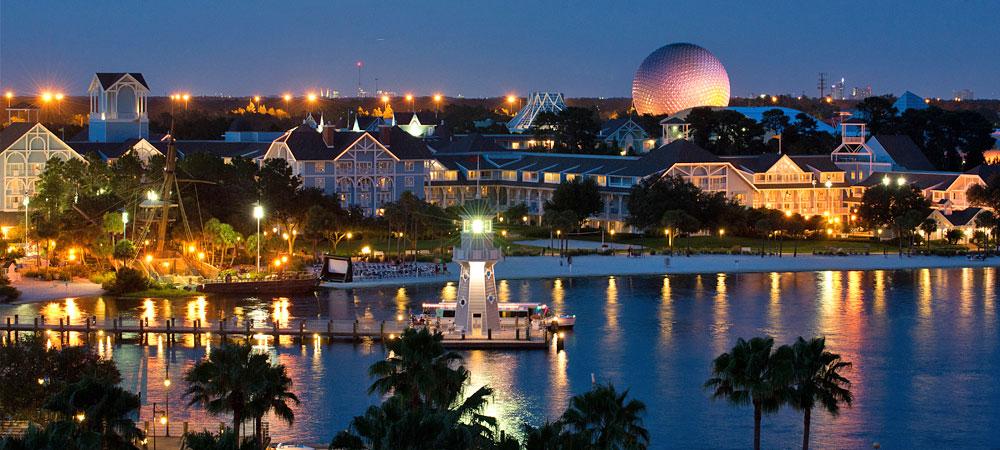 Mapa turístico de Orlando