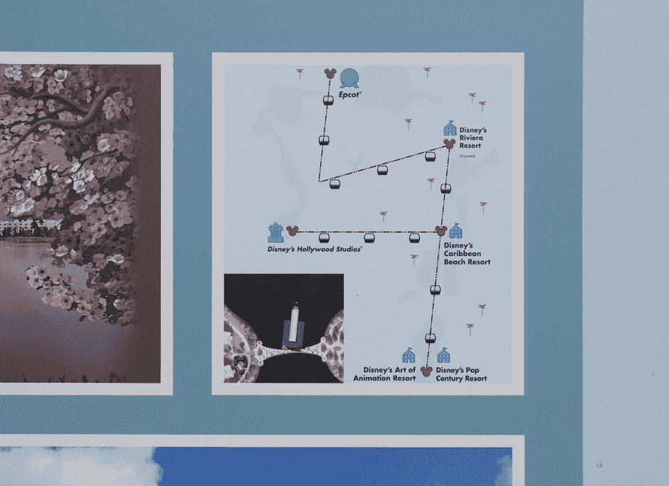 Vias e mapas do Disney Skyliner: o bondinho que liga os hotéis e parques da Disney Orlando