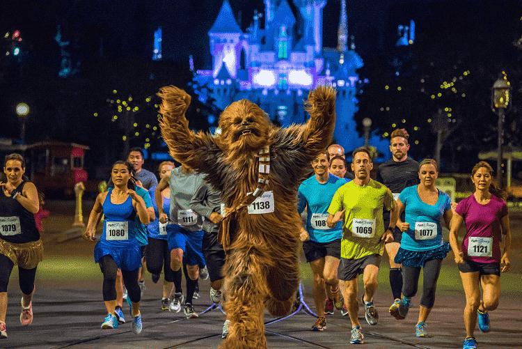 Datas das corridas da Disney de 2019: Maratona Star Wars Half Marathon – The Dark Side