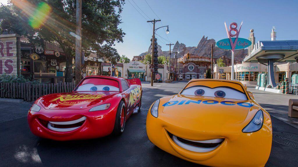 Nueva atracción de Rayo McQueen en Disney Orlando