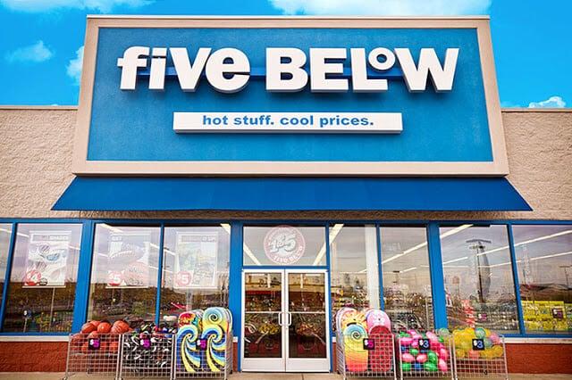 Loja Five Below em Orlando