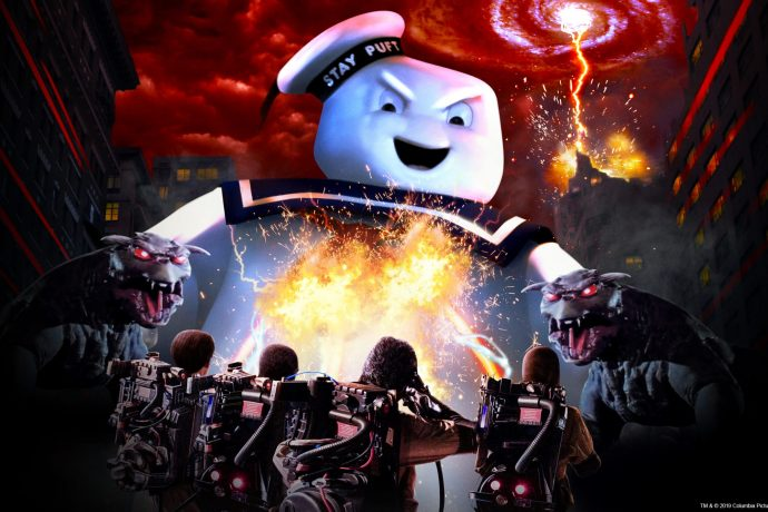 Ghostbusters no Halloween da Universal Orlando