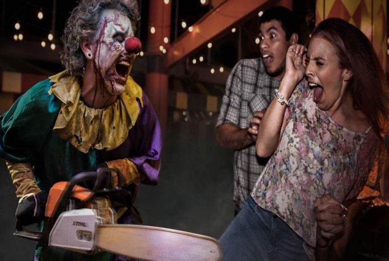 Zonas de susto do Halloween da Universal