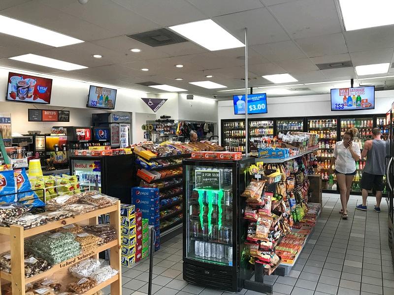 Loja de conveniência em Posto de gasolina em Orlando