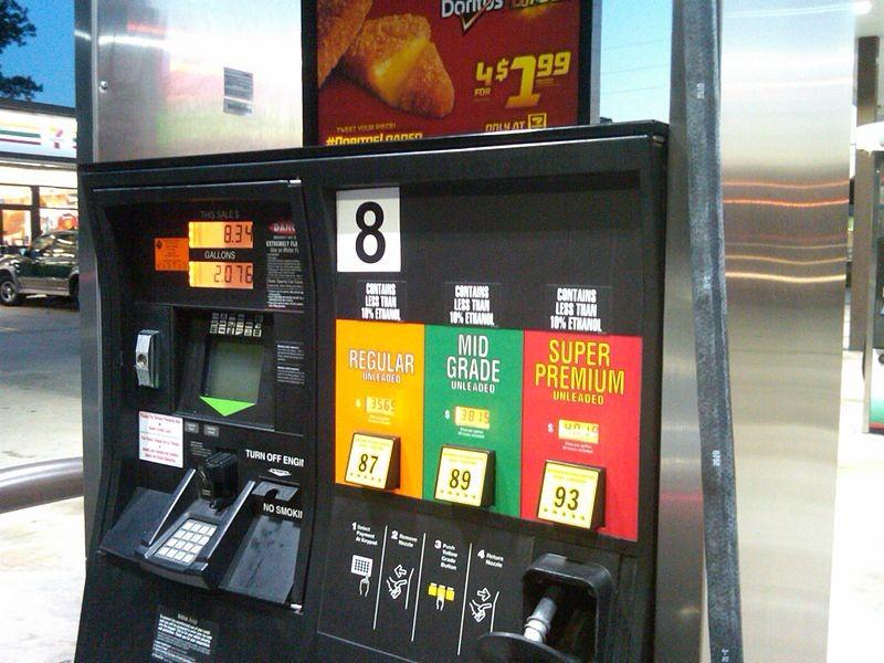 Posto de gasolina em Orlando