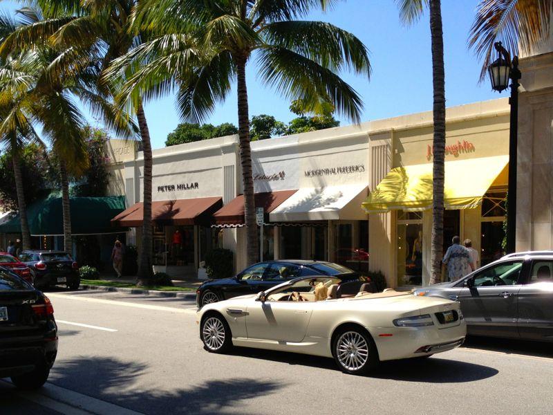 Passeio de carro pela Flórida