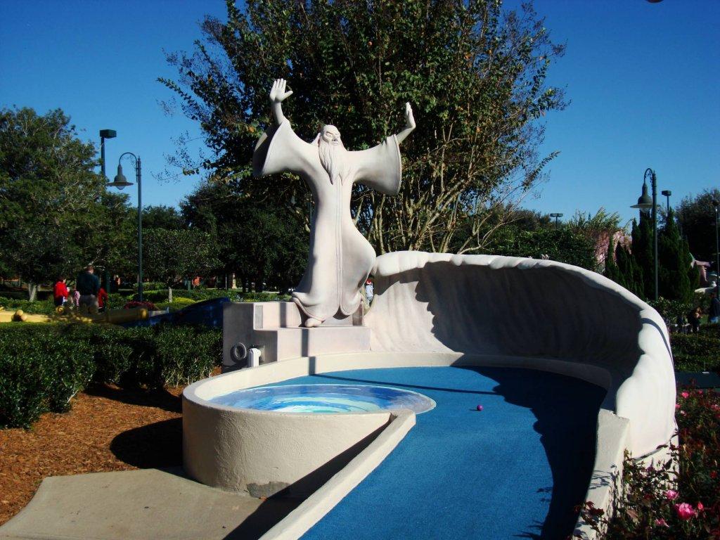 campo de Golfe no Disney's Fantasia Gardens em Orlando