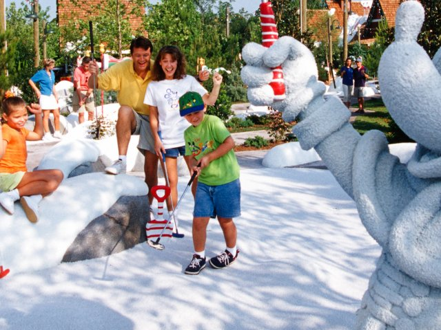 Campo Winter Summerland Miniature Golfe em Orlando