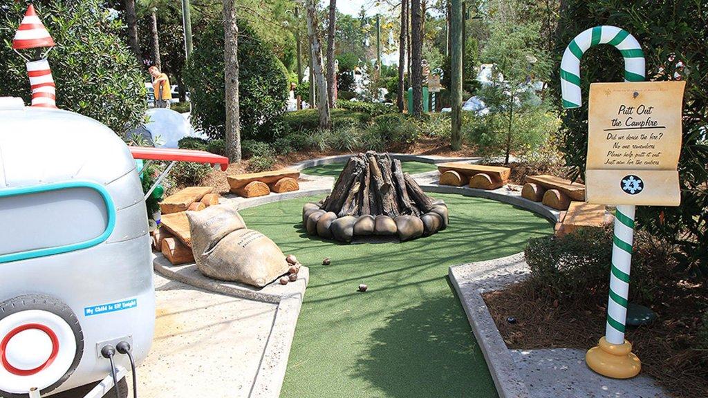 Campo Winter Summerland Miniature Golfe em Orlando