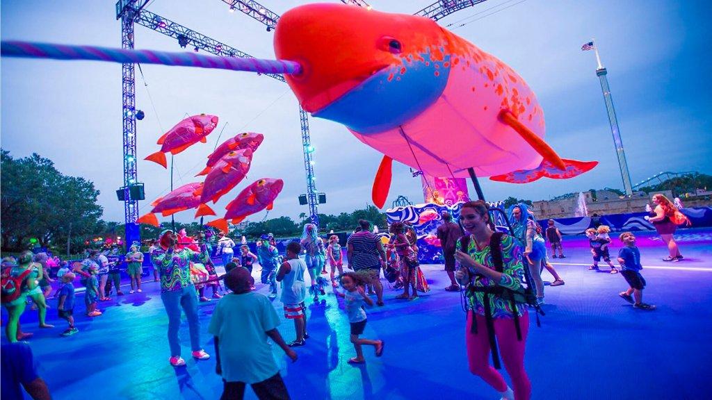 Atrações do Electric Ocean: o evento de verão do parque SeaWorld Orlando