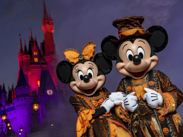 Ingressos para o Halloween na Disney Orlando