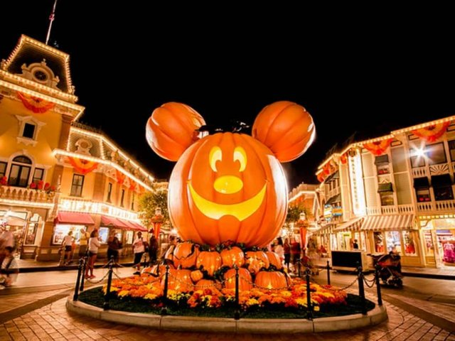 Mickey's Not So Scary Halloween Party na Disney