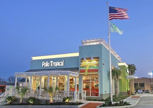 Restaurante brasileiro Pollo Tropical em Orlando