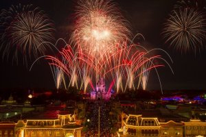 4 de julho na Disney