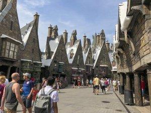 Área do Harry Potter na Universal em Orlando
