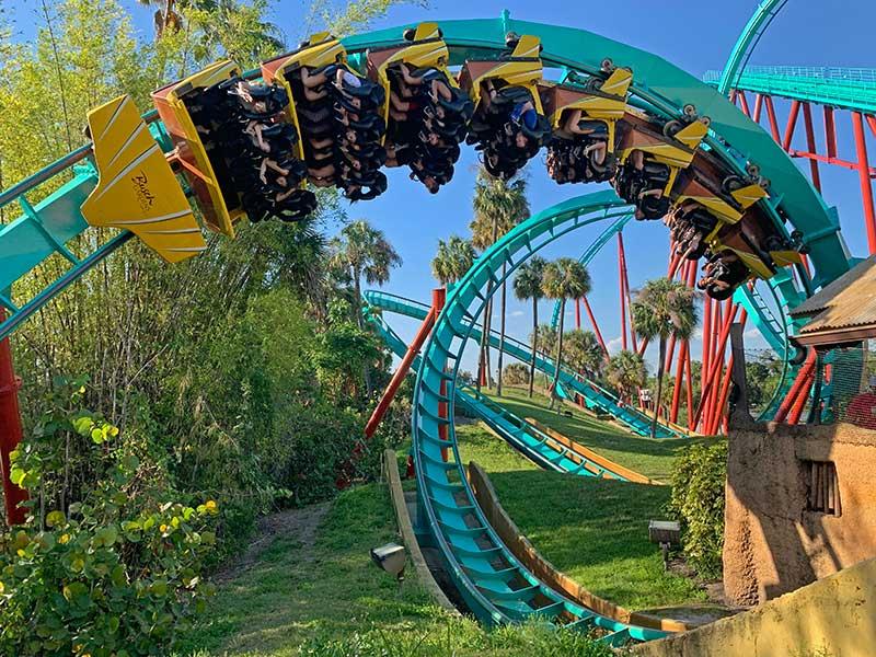 Atrações do Busch Gardens Tampa