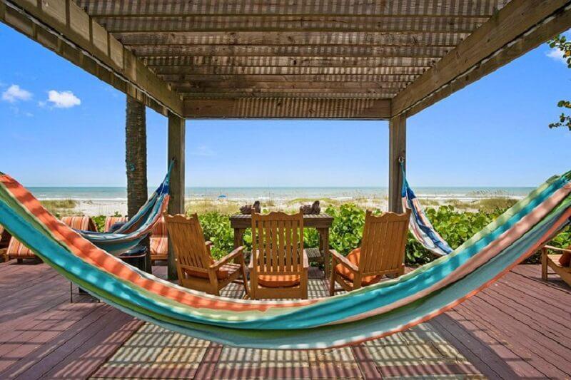 Vista de hotel em Cocoa Beach