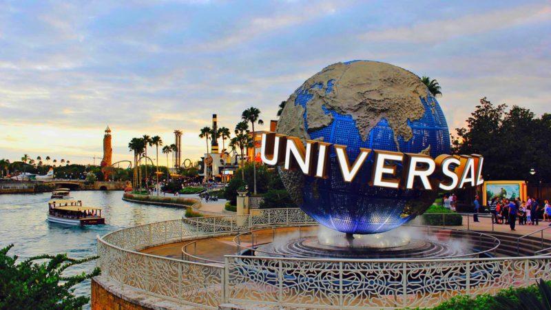 Entrada da Universal em Orlando