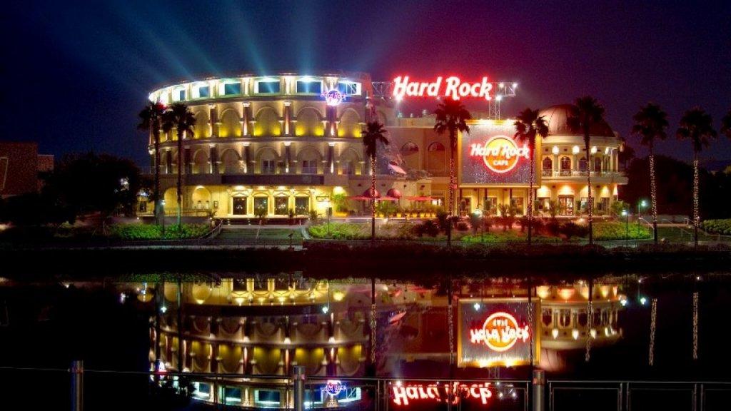 Noite no Hard Rock Cafe de Orlando