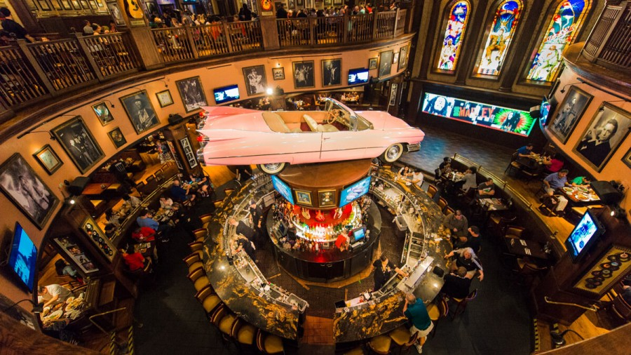Como é o Hard Rock Cafe de Orlando
