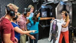 Alvo do Machine Gun em Orlando