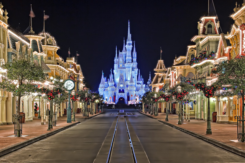 Main Street USA no Disney Magic Kingdom