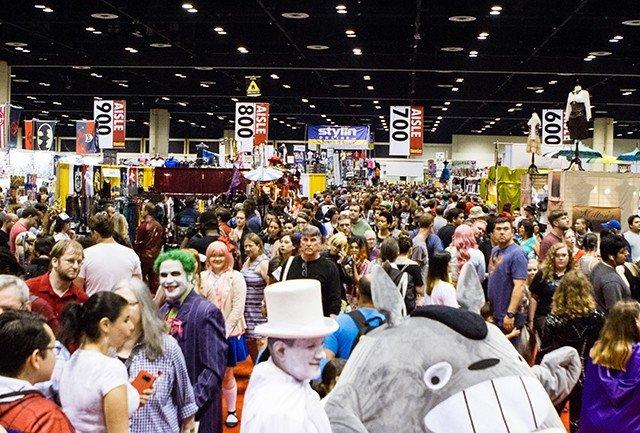 Feira MegaCon em Orlando