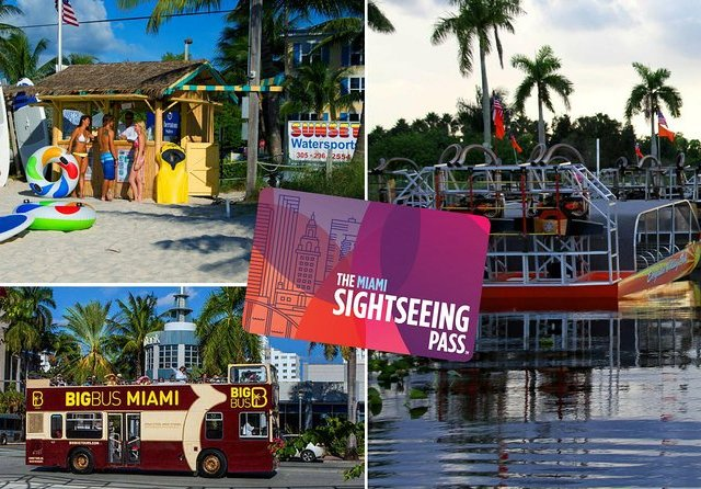 Atrações e tours do Miami Sightseeing Pass