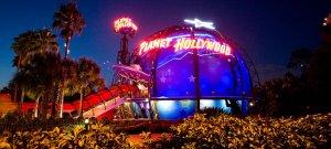 Restaurante Planet Hollywood em Orlando