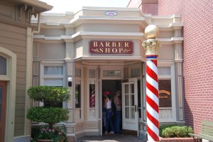 The Barber Shop na Main Street da Disney