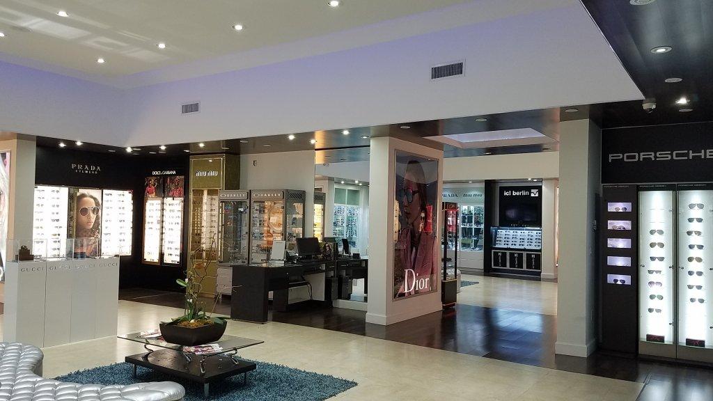 Interior da loja Lexor