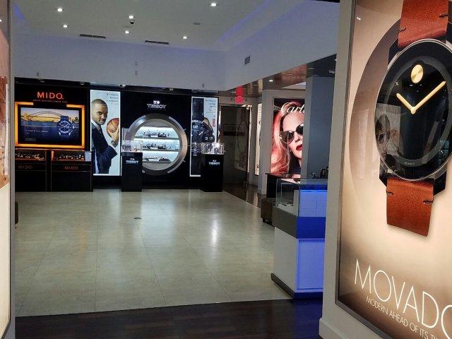 Comprando relógios em Miami na loja Lexor