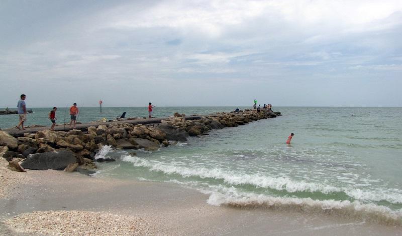 Casey Key Beach em Sarasota