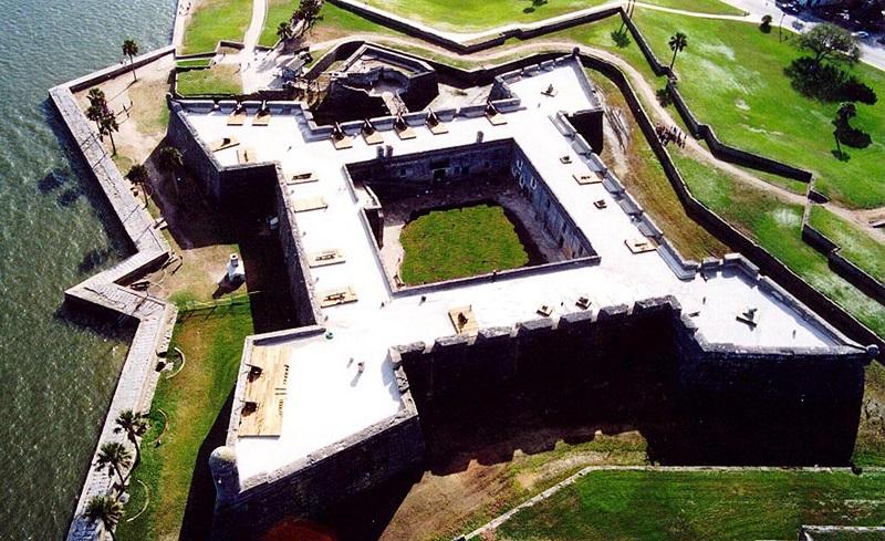 Fortaleza do Castillo de San Marcos
