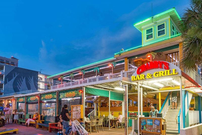 Restaurante Crabby's Bar & Grill em Clearwater