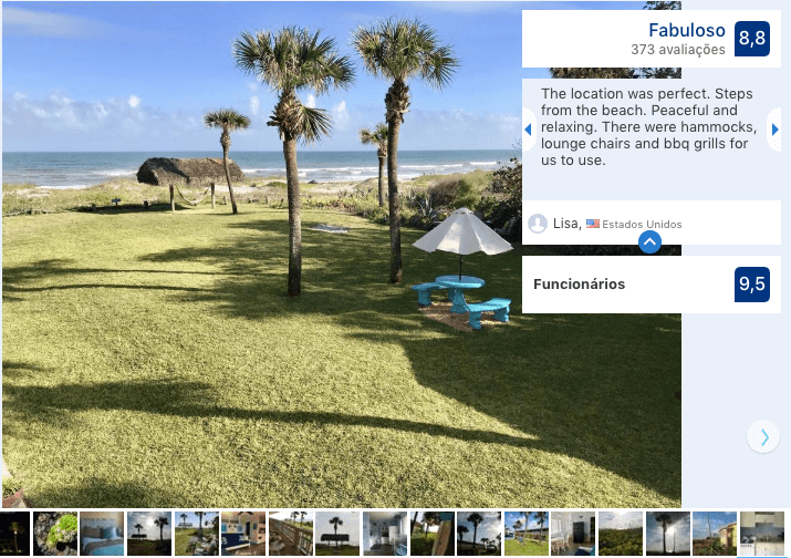 Hotel South Beach Inn em Cocoa Beach