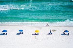 Lido Key Beach em Sarasota