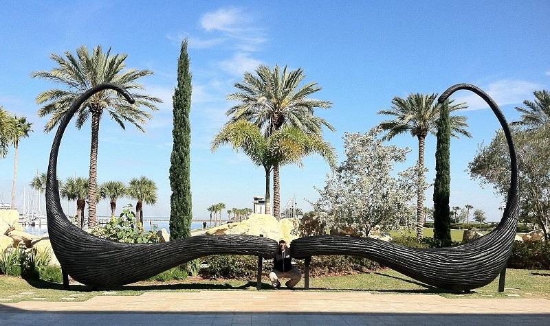 Entrada do Museu Salvador Dalí na Flórida