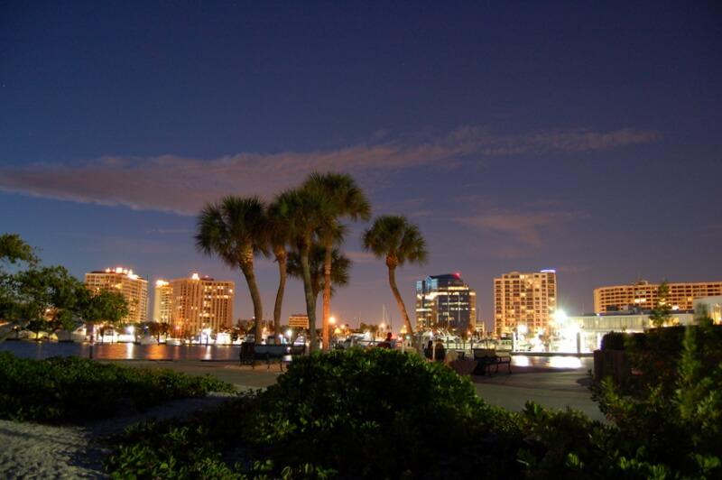 A noite em Sarasota