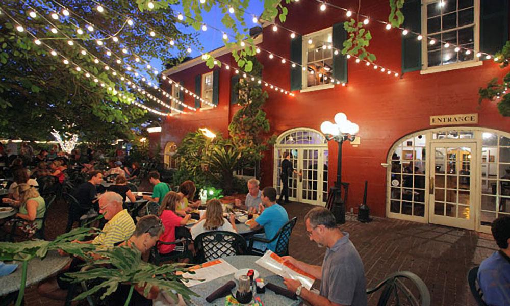 Restaurante em Saint Augustine