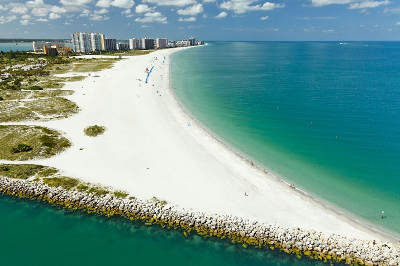 Praia Sand Key Beach em Clearwater