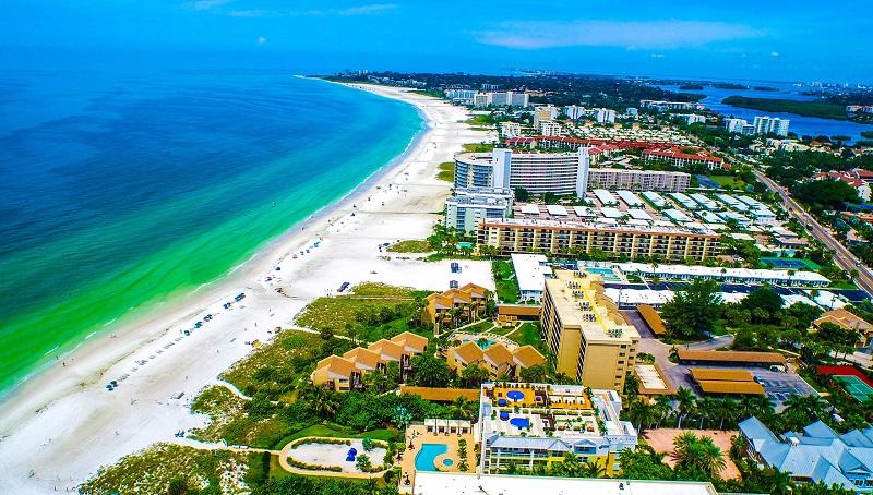 Praias em Sarasota