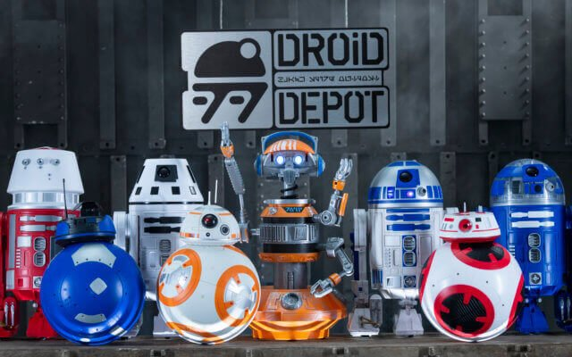 Droid Depot na Star Wars Land da Disney Orlando
