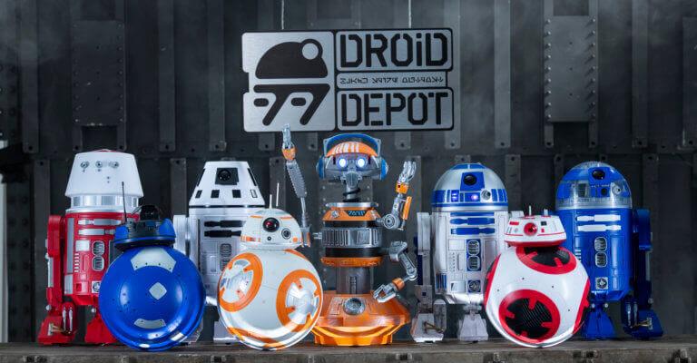 Droid Depot na Star Wars Land da Disney Orlando
