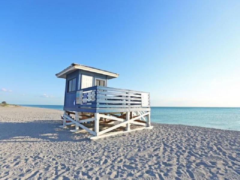 Venice Beach em Sarasota
